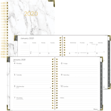 Rediform Marble WeeklyMonthly Planner Julian Dates