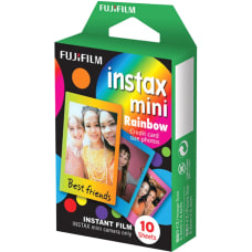 Fujifilm Instax Mini Film Rainbow ISO