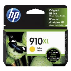 HP 910XL High Yield Yellow Ink
