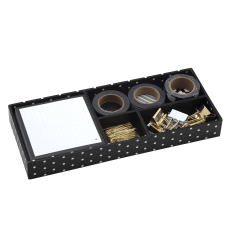 See Jane Work Supply Box Black
