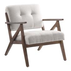 Office Star Reuben Arm Chair BeigeBrown