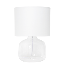 Simple Designs Glass Table Lamp 13