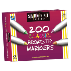 Sargent Art Classic Broad Tip Markers