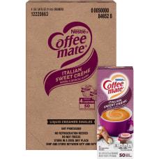 Coffee mate Italian Sweet Creme Liquid