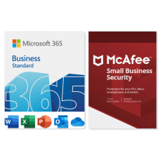 Microsoft 365 Business McAfee Small Business