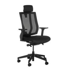 Vari Task Chair With Headrest Black