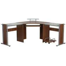 Flash Furniture Laminate Corner Desk With