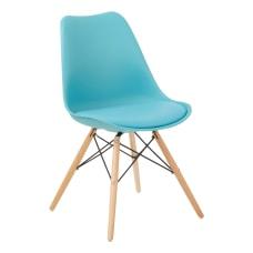 Ave Six Allen Guest Chair TealNatural