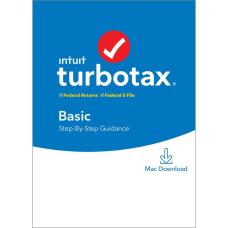 TurboTax 2019 Basic Federal EFile For