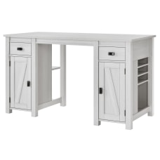 Ameriwood Home Farmington DeskCraft Table Ivory