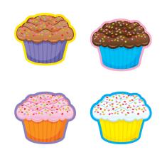 TREND Mini Accents 3 Cupcakes Multicolor