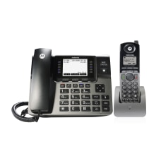 Motorola ML1250 CordedCordless Phone Base With