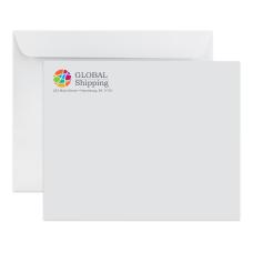 Custom Full Color Catalog Envelopes Open