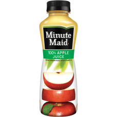 Minute Maid Apple Juice 12 Oz