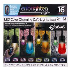 Enbrighten Seasons Vintage LED Caf Lights
