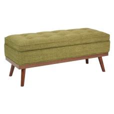 Ave Six Katheryn Storage Bench GreenLight