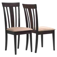 Monarch Specialties Asher Dining Chairs BeigeCappuccino
