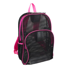 Eastsport Sport Mesh Backpack BlackPink