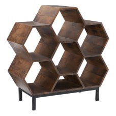 Powell Gorrman 34 H Cubby Bookshelf