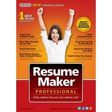 ResumeMaker Professional Pro Deluxe 20 Disc