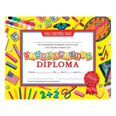 Hayes Kindergarten Diplomas 8 12 x