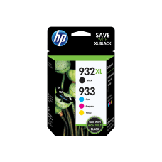 HP 933 BlackCyanMagentaYellow Ink Cartridges N9H62FN140