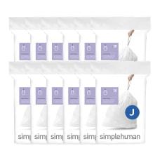 simplehuman Custom Fit Can Liners J