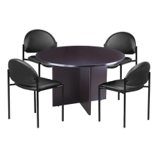 Boss 5 Piece Conference Table And
