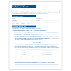 ComplyRight FFCRA Leave Request Forms 8