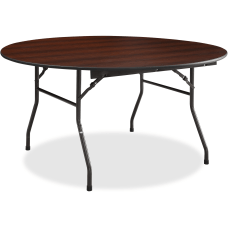Lorell Banquet Folding Table Round 5W