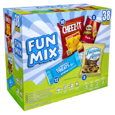 Kelloggs Sweet And Savory Fun Snack