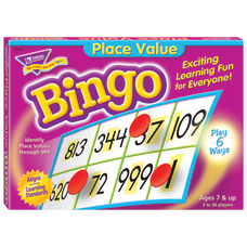 Trend Place Value Bingo Game All
