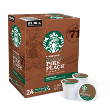 Starbucks Pike Place Decaffeinated Coffee Single