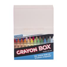 Its Academic Crayon Storage Box Assorted