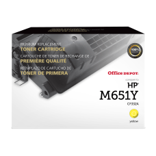 Office Depot Brand OD654AY Remanufactured Yellow