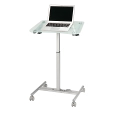 Realspace Laptop Cart Clear