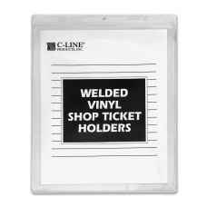 C Line Vinyl Shop Ticket Holders