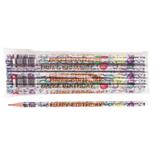 Moon Products Happy Birthday Pencils 2