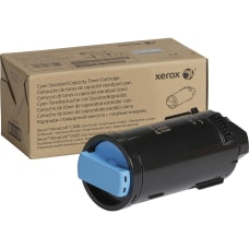 Xerox Original Toner Cartridge Cyan Laser