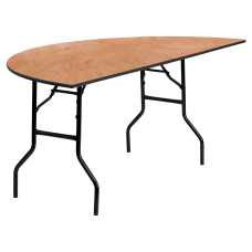 Flash Furniture Half Round Folding Banquet