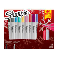 Sharpie Permanent Fine Point Markers Holiday