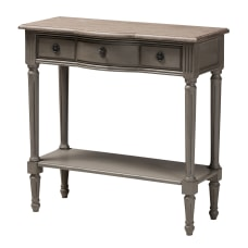 Baxton Studio French Accent Console Table