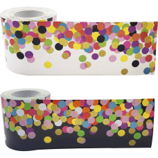 Teacher Created Resources Colorful Confetti Border