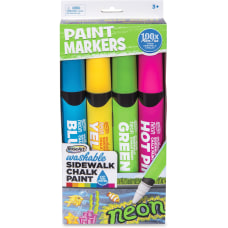 RoseArt Washable Sidewalk Chalk Paint Markers