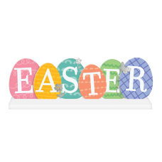 Amscan Easter Egg Standing Sign 6