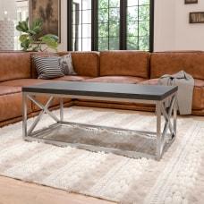 Flash Furniture Coffee Table 17 34