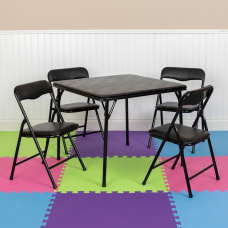 Flash Furniture Kids Colorful Folding Table