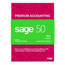 SAGE 50 Premium Accounting 2021 US