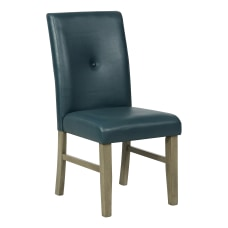 Powell Brenter Side Chair Driftwood GrayTraditional