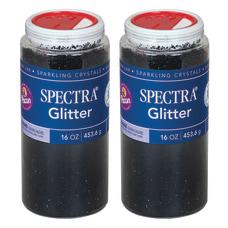 Pacon Spectra Glitter 1 Lb Black